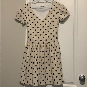 Suzy Shier polka dot dress